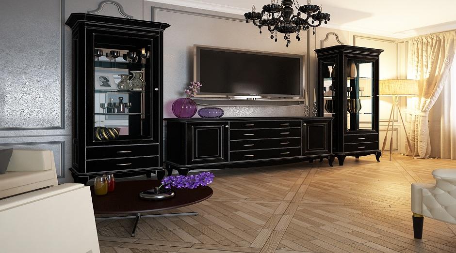 Гостиные мебельной фабрики Севзапмебель